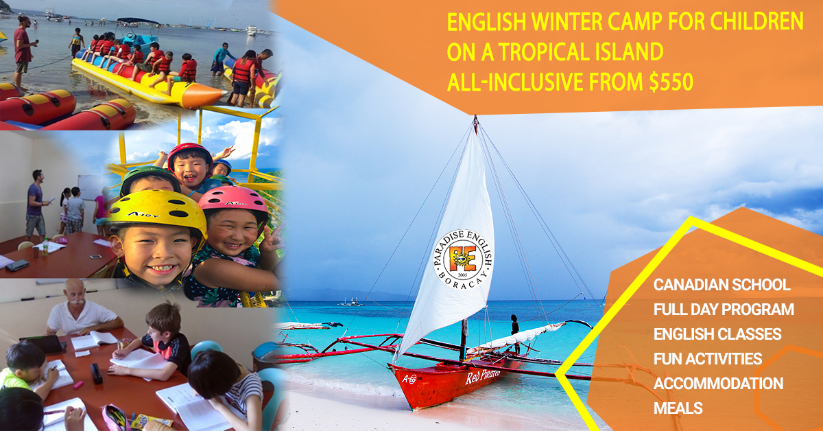 Winter English Camp for Children and Teenagers