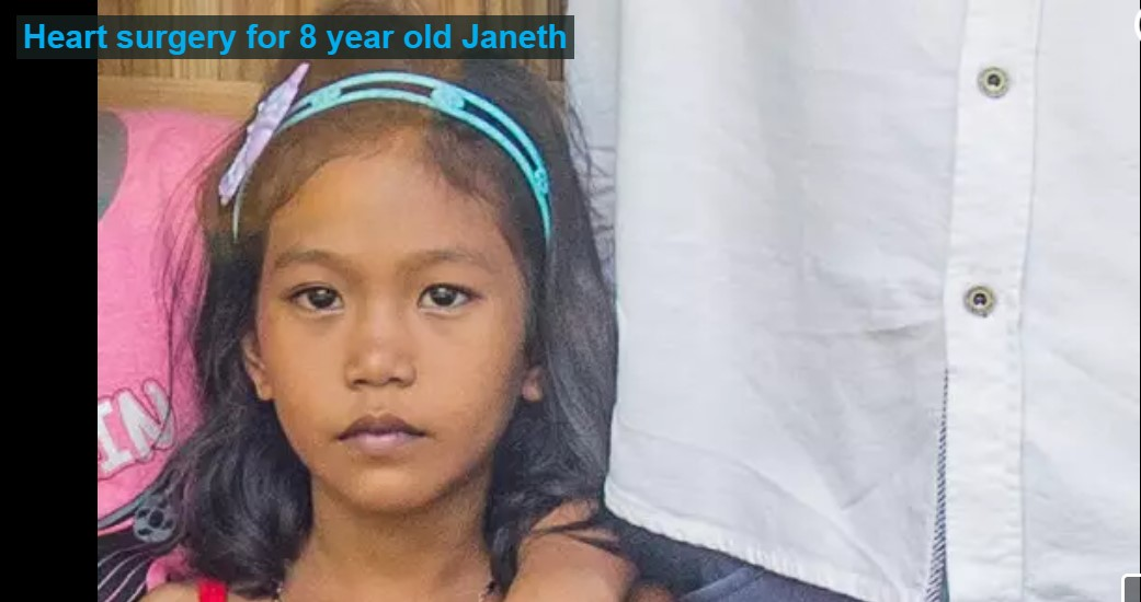 8 Yr old Janeth's Heart Surgery