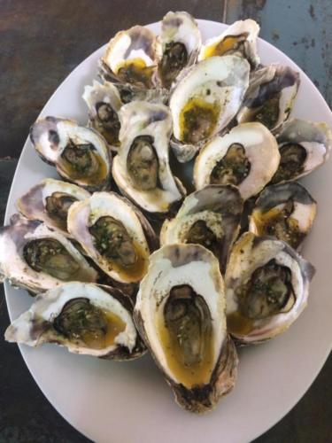 Baked Oysters in Garlic and Butter