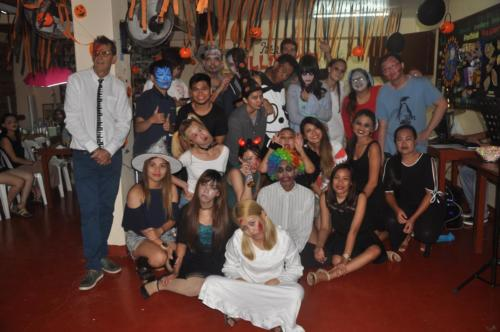 Paradise English Halloween 2017